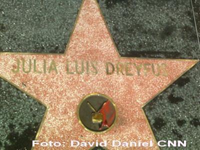 Greseala pe Walk of Fame: Elaine din Seinfeld are stea, dar nu e numele ei