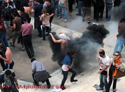 Grecia, paralizata joi de o noua greva generala