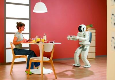 ASIMO, primul robot umanoid a trecut prin Romania