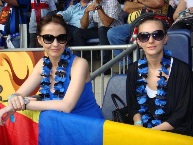 Adela Popescu a vazut finala Champions League langa Adelina Chivu! FOTO