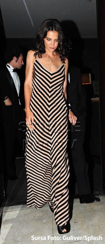 Katie Holmes, esec vestimentar la National Movie Awards