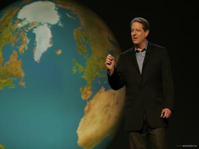 Al Gore divorteaza. Incalzirea globala e de vina