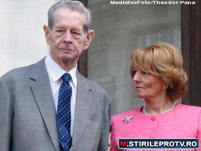 Principesa Margareta: Regele Mihai este foarte emotionat inaintea discursului din Parlament