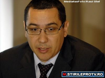 Victor Ponta sustine ca PDL are legaturi stranse cu Sorin Ovidiu Vintu