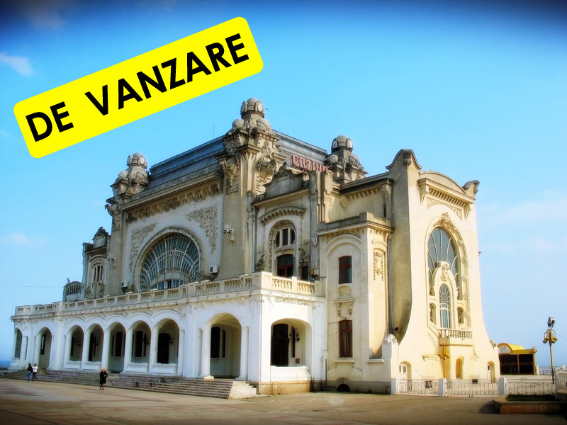 Radu Mazare vrea sa vanda Cazinoul din Constanta