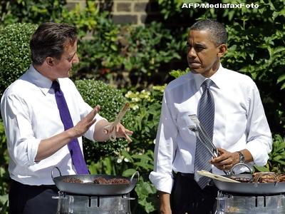 FOTO. The Guardian, despre gratarul englezo-american: