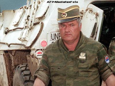 Nepotii lui Ratko Mladici si-au vazut prima oara bunicul, in inchisoare. Fiica lui s-a sinucis
