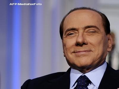 Silvio Berlusconi castiga din masurile de austeritate impuse italienilor 750 milioane de euro
