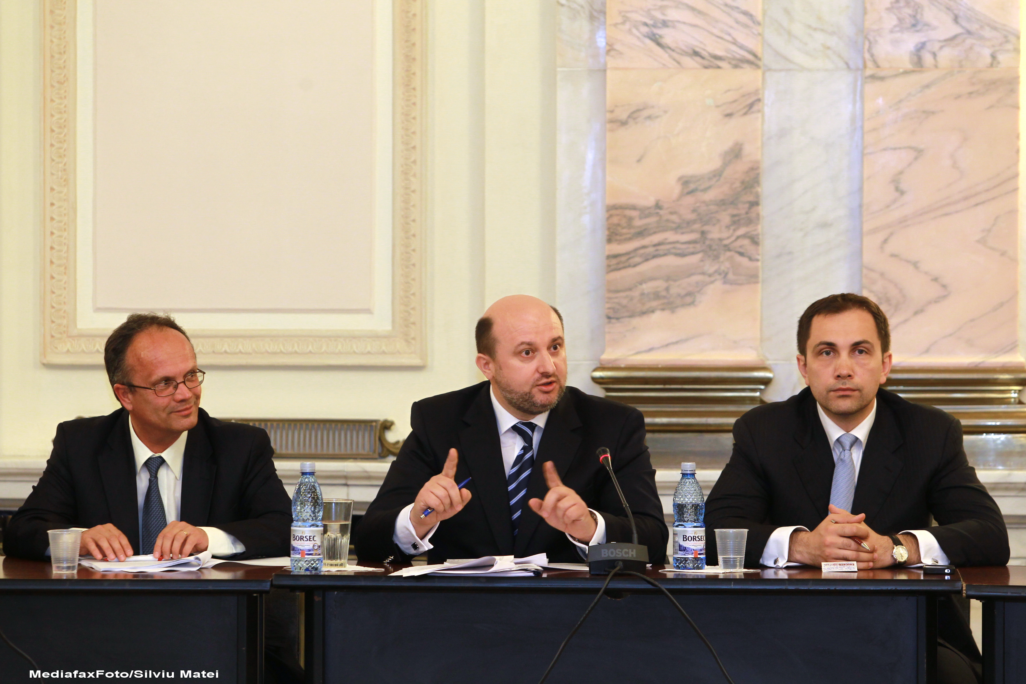 Audieri in Parlament, Cabinetul Ponta. Toti ministrii propusi au primit avize favorabile