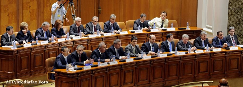 Romania are un nou Guvern. Cabinetul Ponta a obtinut 284 de voturi in Parlament
