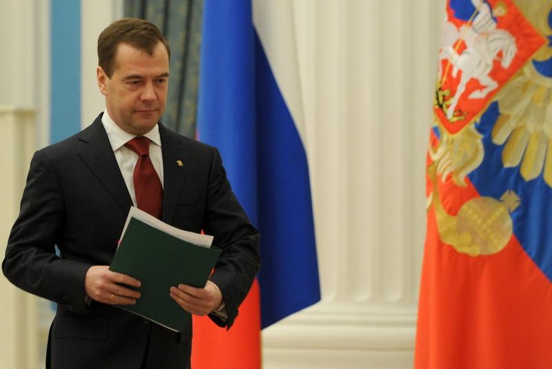 Premierul desemnat Dmitri Medvedev a primit votul de incredere al Dumei de Stat