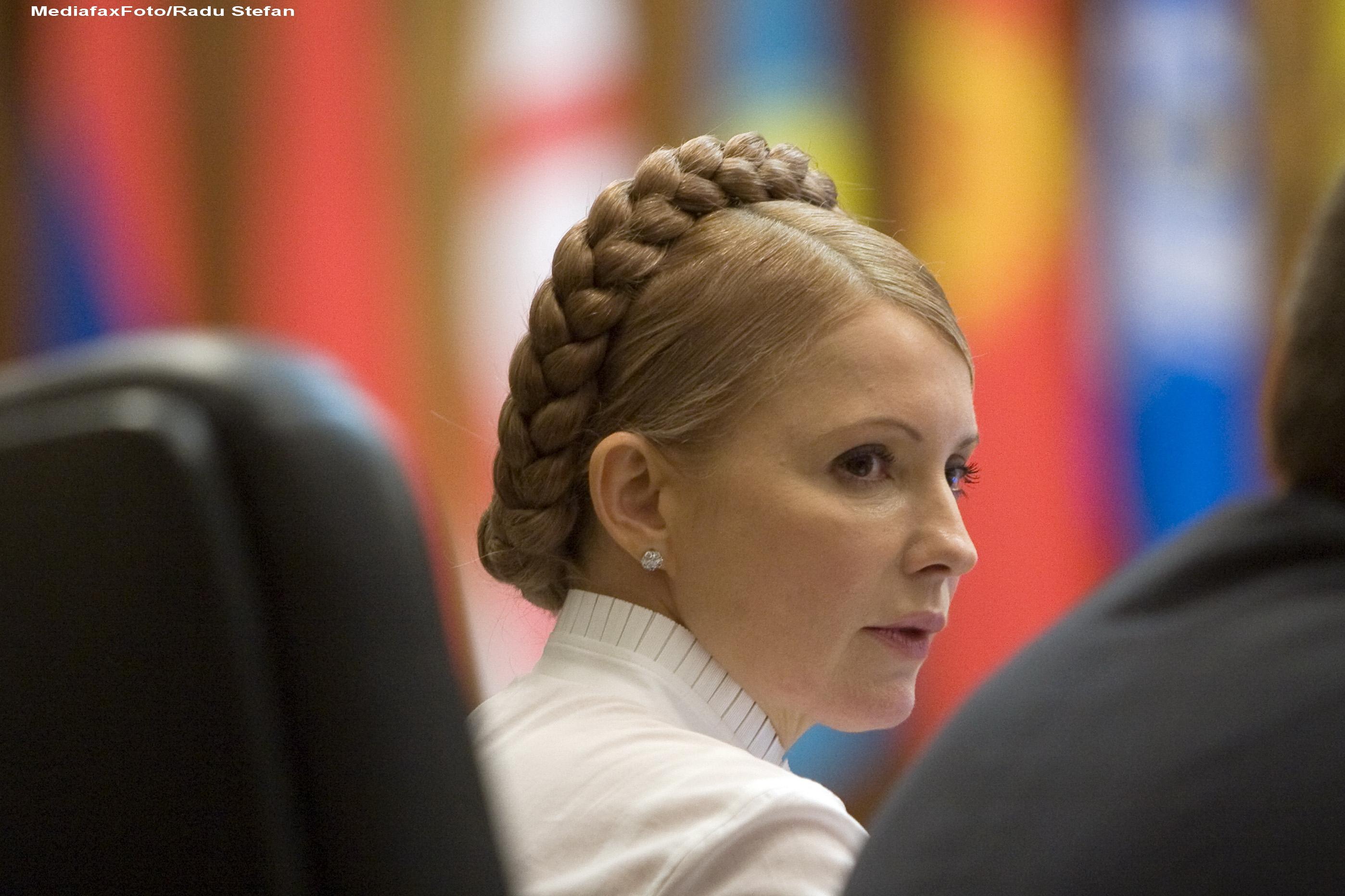 Iulia Timosenko a intrat in greva foamei ca protest fata de nesemnarea acordului Ucraina - UE