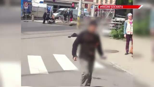 Un barbat si-a dat foc in fata tribunalului unde are loc procesul lui Anders Breivik
