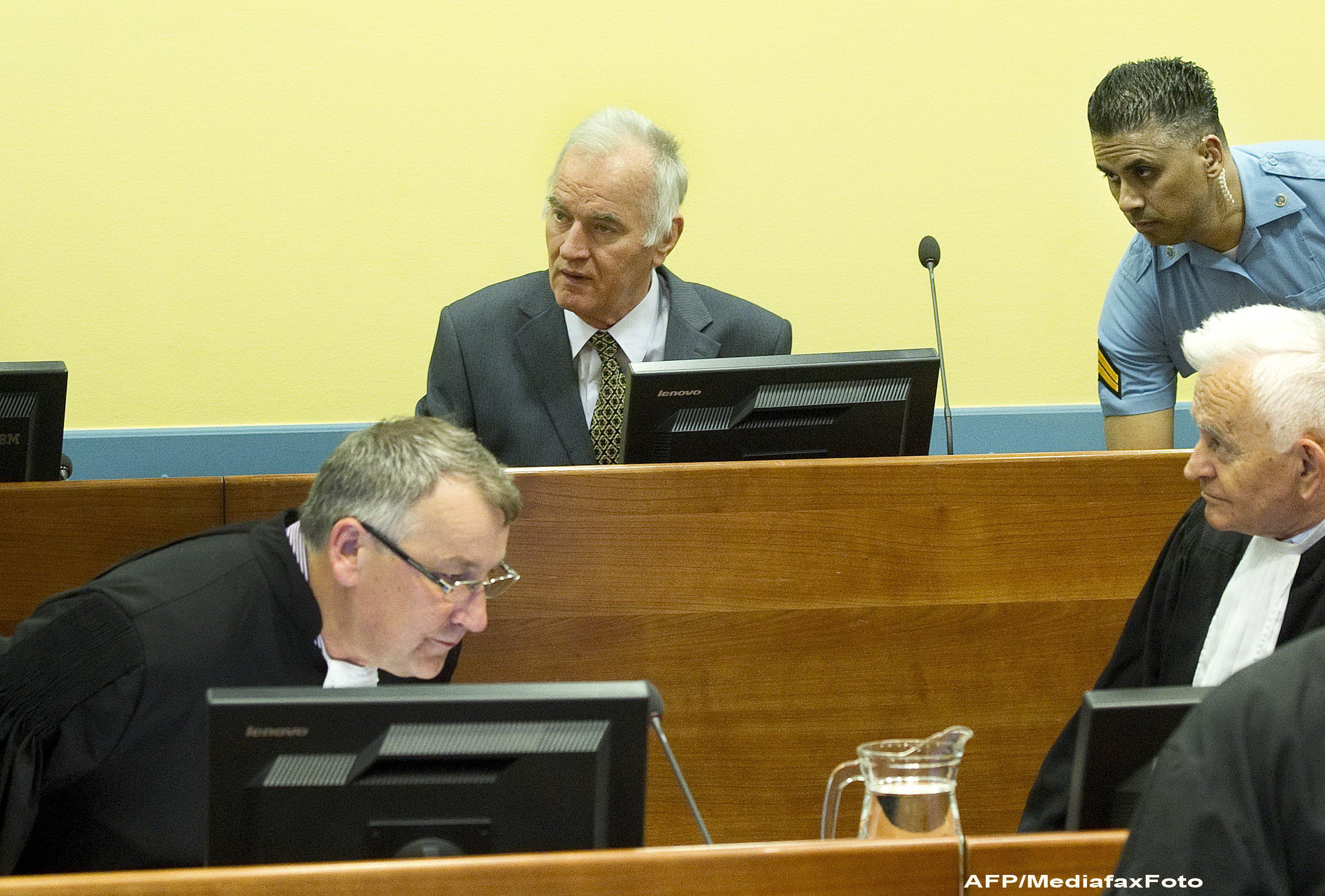 A inceput procesul lui Ratko Mladici.