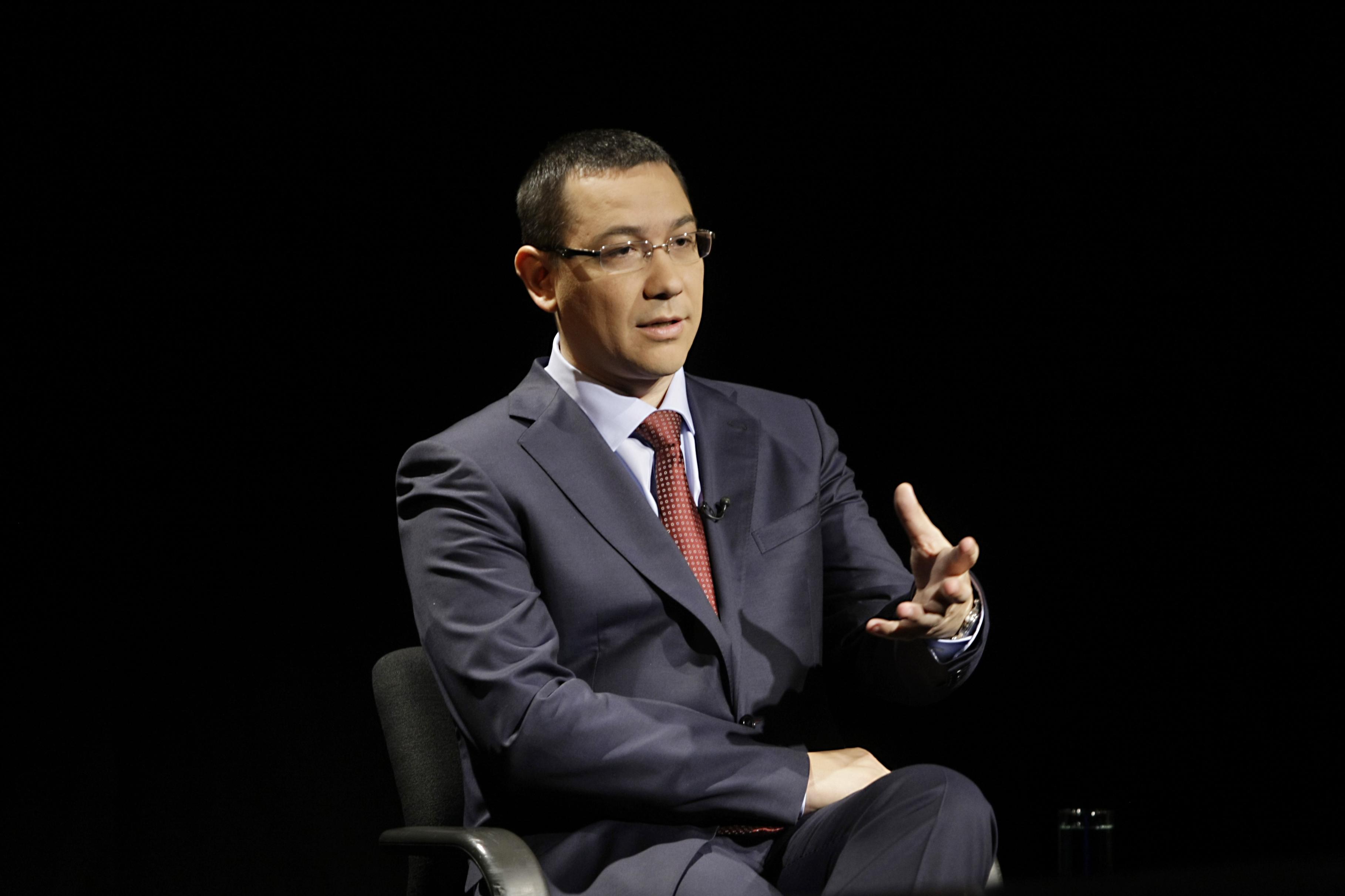 Ponta asigura din nou ca Tratatul ACTA nu va fi ratificat pana cand nu este modificat la Bruxelles
