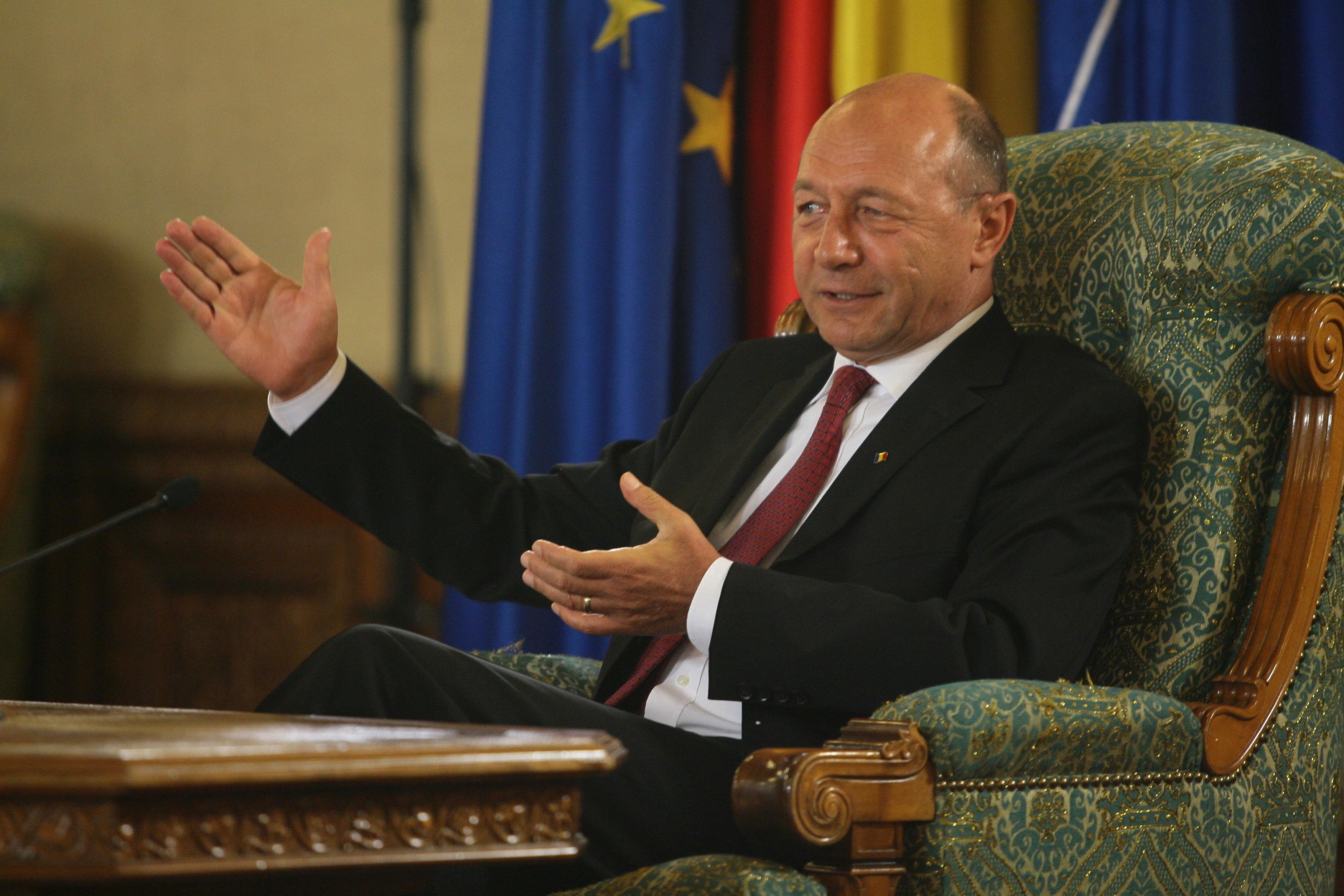 Pe taram american, Basescu si-a admis