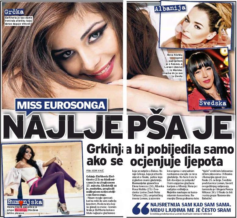 Mandinga, printre favoritii in finala Eurovision. Presa din Europa, incantata de prestatia Romaniei