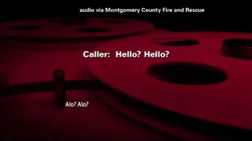A sunat la 911 sa anunte ca sotul ei nu mai respira, dar n-a auzit decat niste sforaituri