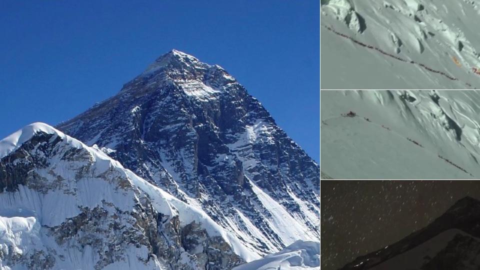Ambuteiaj de trafic pe Everest. 300 de oameni s-au blocat in drum spre