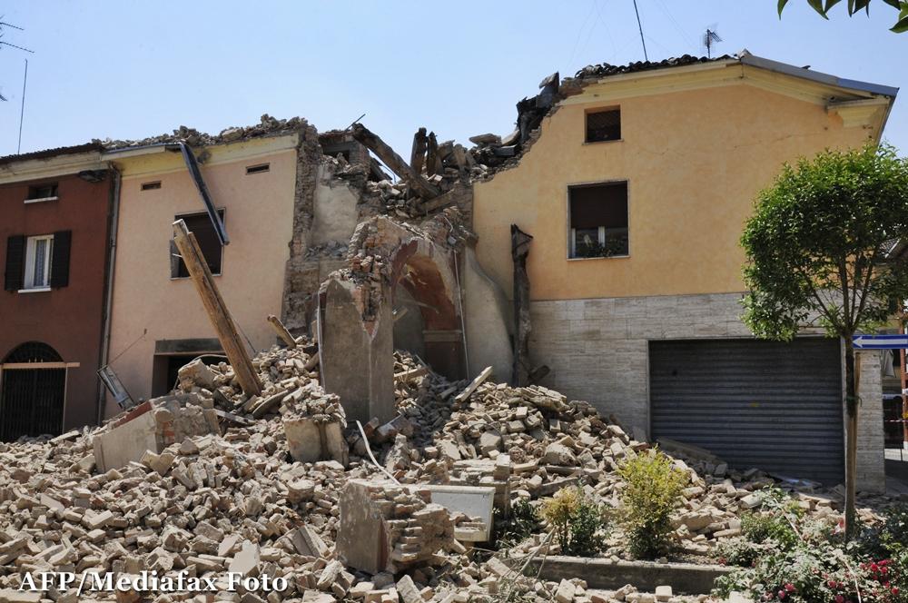 Bilantul cutremurului din Italia: 17 morti si 350 de raniti. Autoritati: