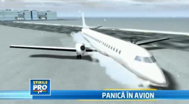 Momente haotice in timpul evacuarii fortate a avionului Florenta-Timisoara. Ce erori reclama romanii