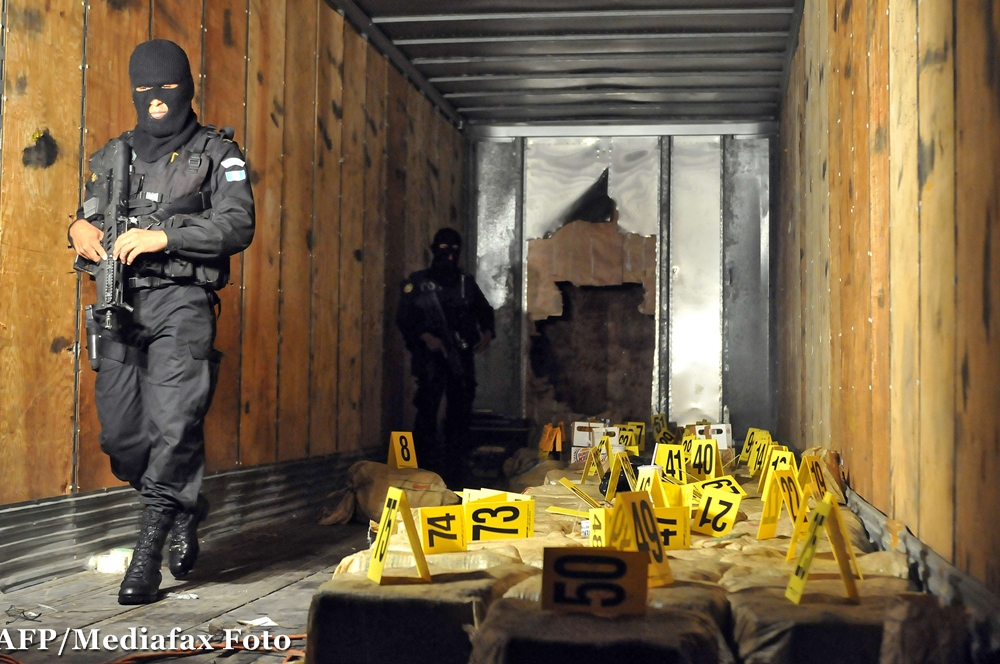 Roman arestat dupa ce a vrut sa aduca 9 TONE de cocaina in Europa din America Latina