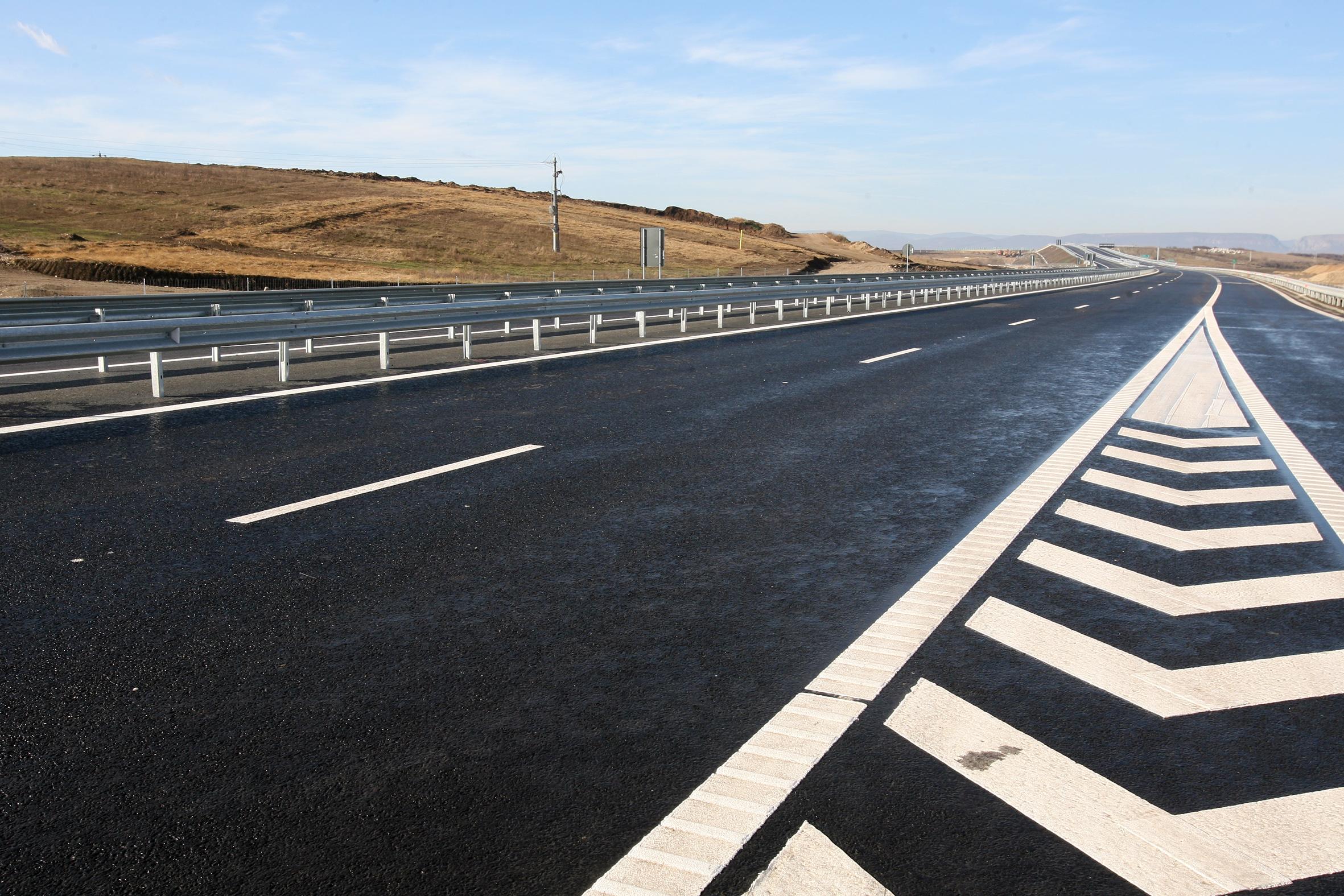 Sentinta definitiva: vor incepe lucrarile la autostrada Lugoj-Deva, loturile 2 si 3