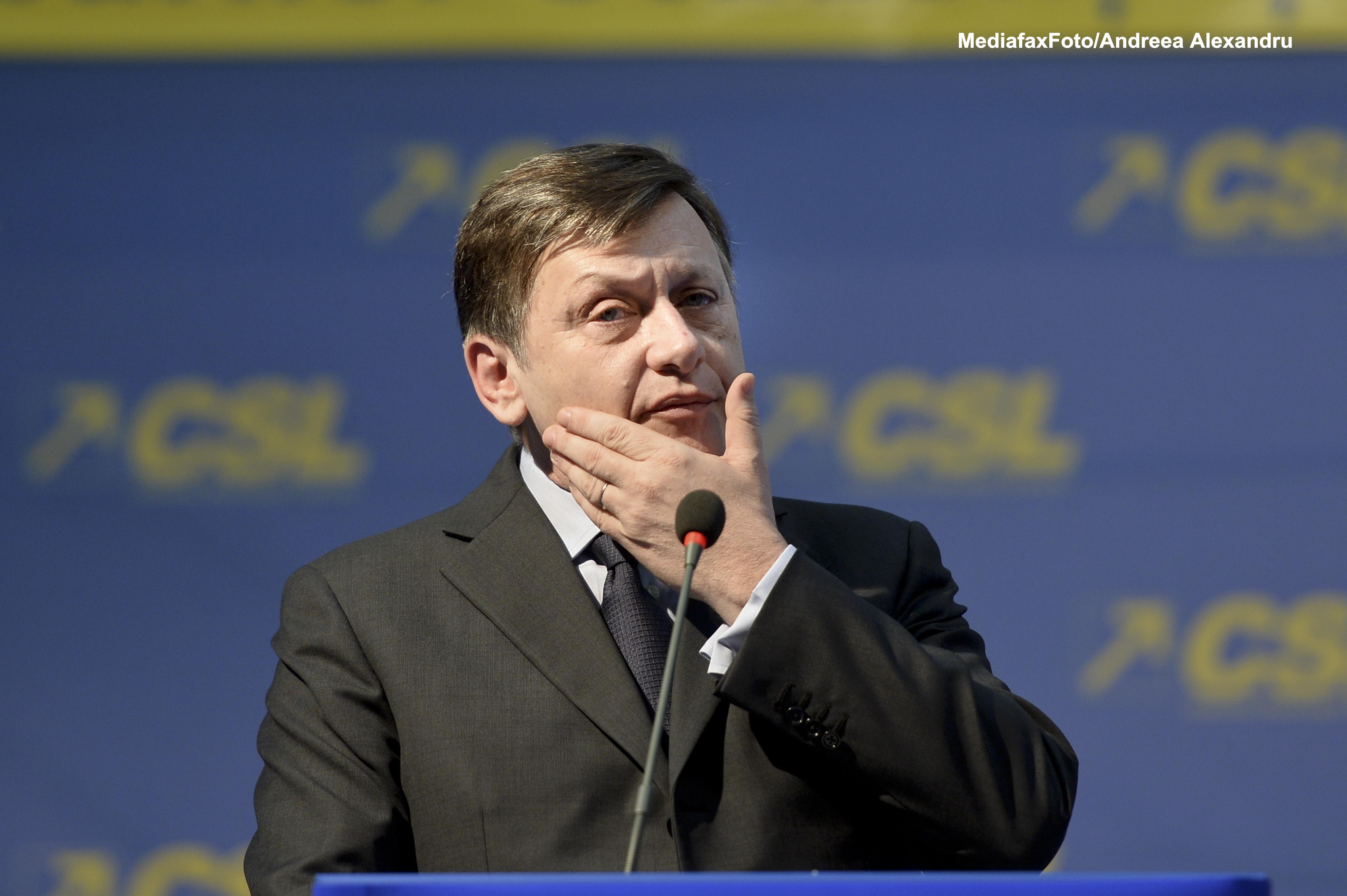 Atac al lui Crin Antonescu la adresa presedintelui Parlamentului European: