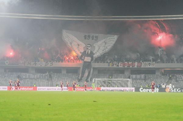 U Cluj, amenda de 30.000 de lei dupa derby-ul cu CFR