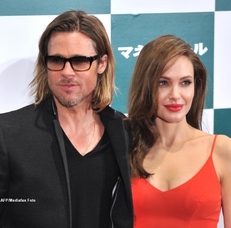 Gest impresionant al Angelinei Jolie. Cum ii multumeste lui Brad ca a fost alaturi de ea