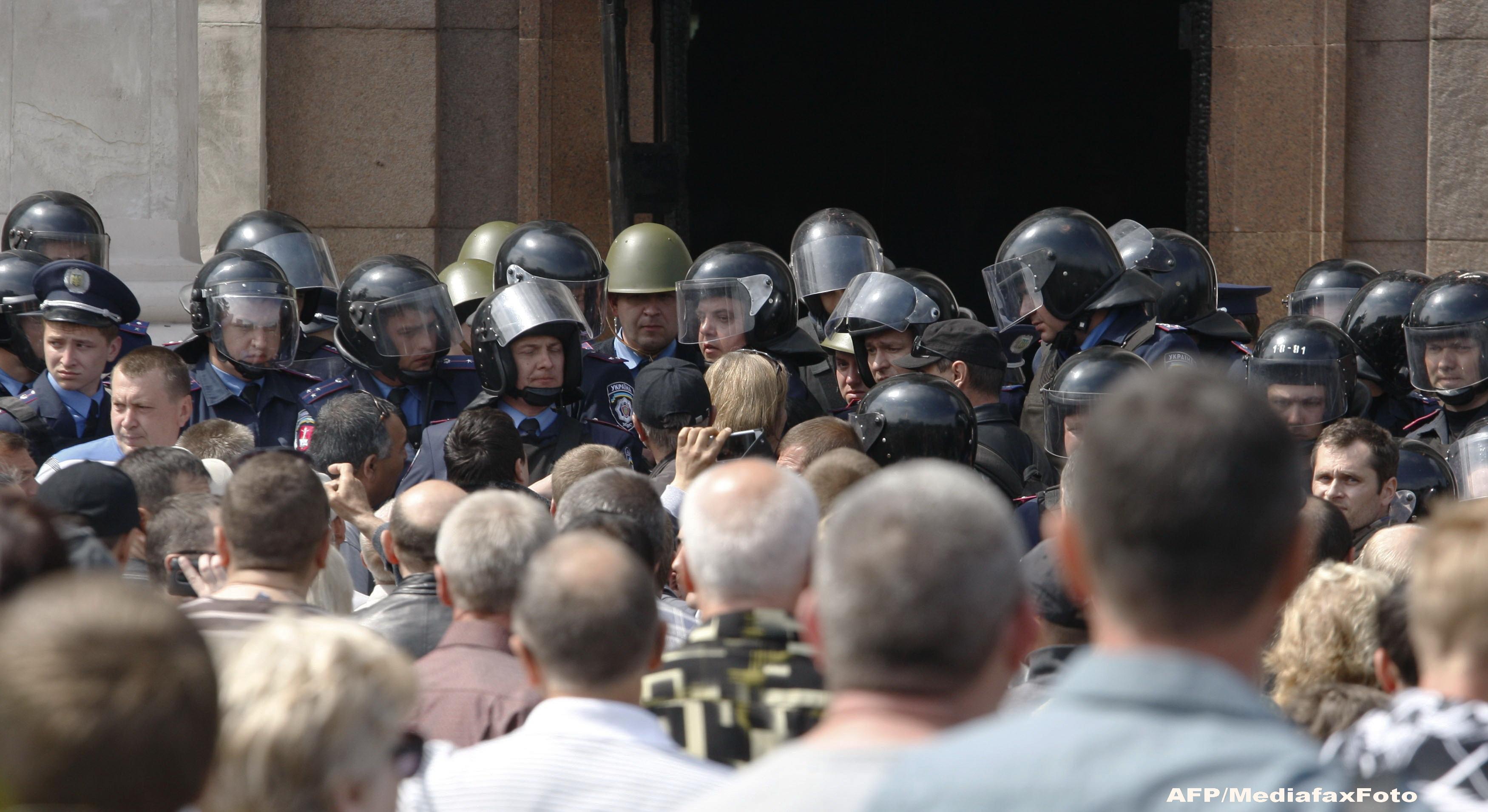 Criza in Ucraina. Violentele din Odesa au fost organizate de Viktor Ianukovici, acuza Serviciul Ucrainean de Securitate