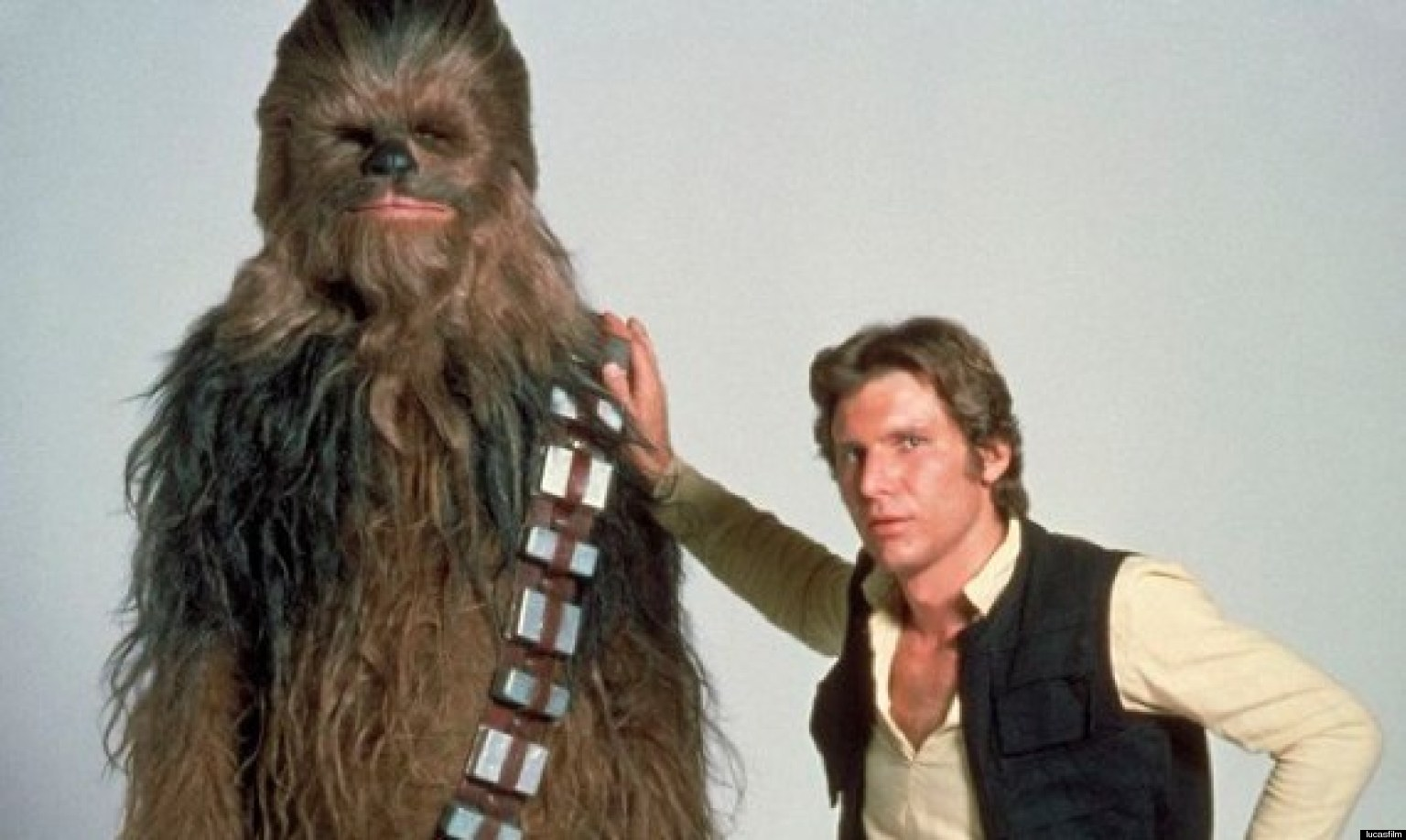 Chewbacca, la fel de tanar ca in urma cu 30 de ani. Prima imagine de pe platoul noului film Star Wars