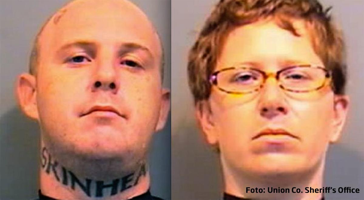 S-au sarutat in timp ce erau condamnati la inchisoare pe viata pentru crima.
