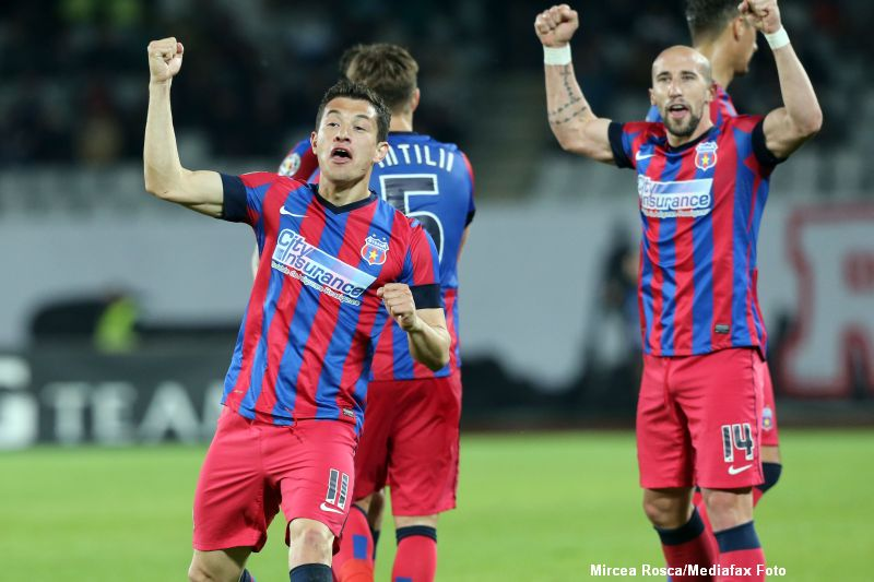 Steaua e campioana Romaniei. Ros-albastrii au invins pe U Cluj cu 1-0 si si-au asigurat al 25-lea titlu din istorie