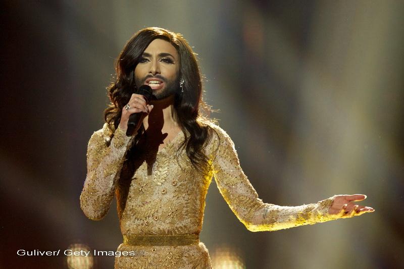 EUROVISION 2014. Conchita Wurst, reprezentanta Austriei, poreclita