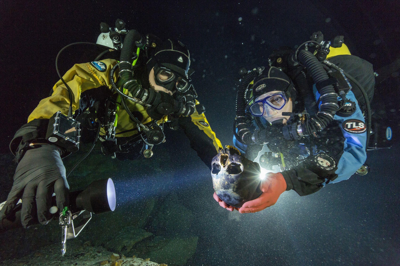 Cel mai vechi schelet uman din emisfera vestica. Ce confirma descoperirea sa intr-o pestera subacvatica