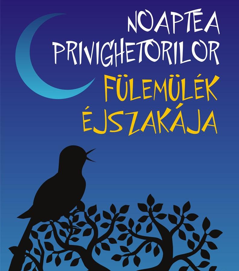 Noaptea privighetorilor la Gradina Botanica din Cluj-Napoca