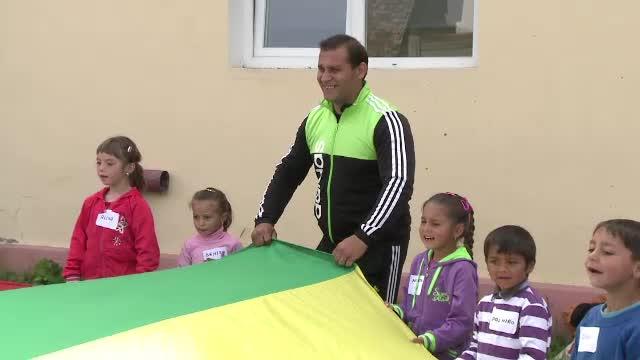 Experintele emotionante traite de copiii prescolari din Tarnava Sibiu. Evenimentul organizat pentru ei de Asociatia OvidiuRo