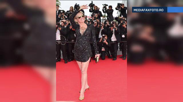 Sharon Stone, marea dezamagire a criticilor de moda de la Cannes. Cum si-a facut aparitia pe covorul rosu