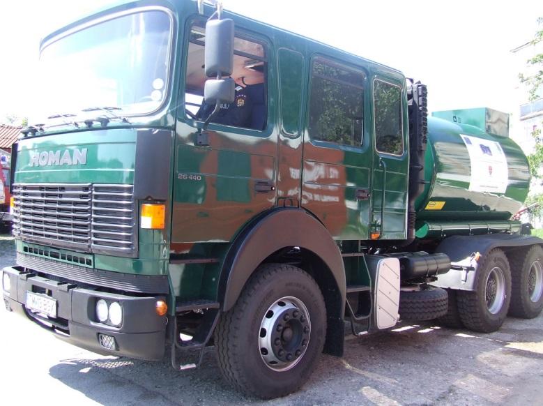 ISU Timis a trimis o autocisterna in Serbia pentru transportul apei potabile, in zonele afectate de inundatii