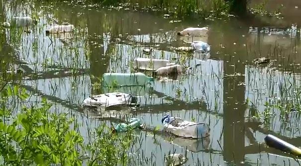Dunarea ar putea fi contaminata, dupa ce fluviul a depasit cota de inundatie si ameninta sa ajunga la deseurile chimice