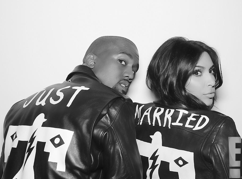 Kim Kardashian si Kanye West s-au casatorit. Primele imagini de la nunta
