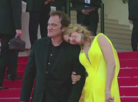 Actrita Uma Thurman si Quentin Tarantino ar avea o relatie. Regizorul a spus ca o iubeste de multi ani