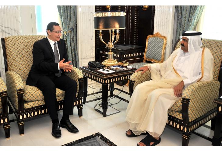 Victor Ponta vrea sa le vanda arabilor Aeroportul International din Otopeni si Aeroportul Baneasa.