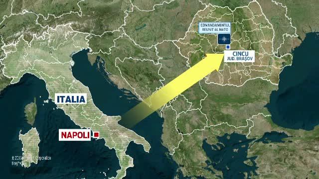 Comandamentul NATO se muta de la Napoli intr-o comuna din Brasov. Detaliile din spatele unei premiere istorice