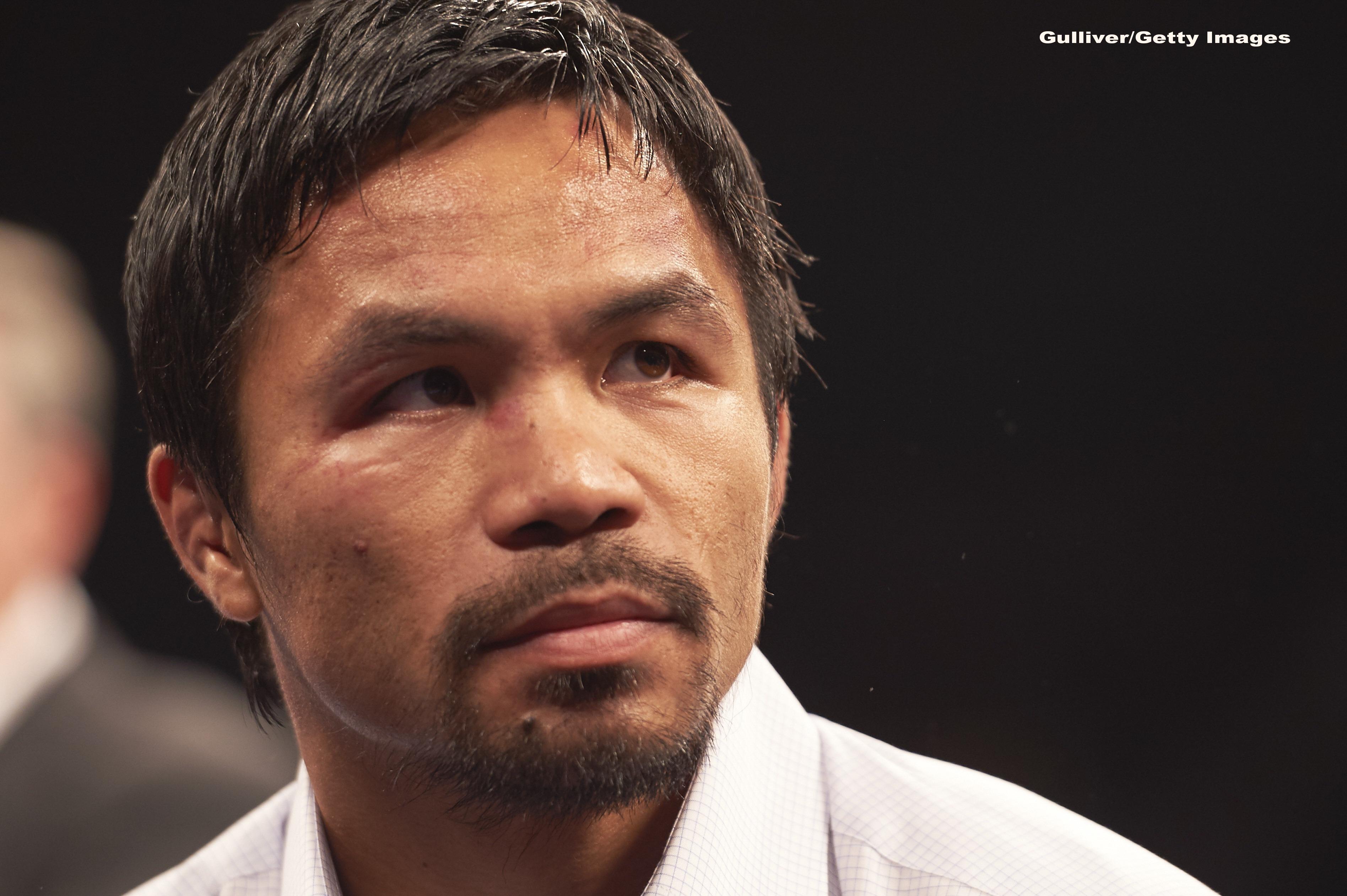 Pugilistul Manny Pacquiao va candida la alegerile prezidenţiale din 2022 din Filipine