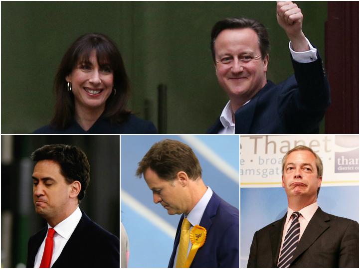 ALEGERI IN MAREA BRITANIE. Conservatorii sunt marii castigatori si detin majoritatea absoluta in Parlament