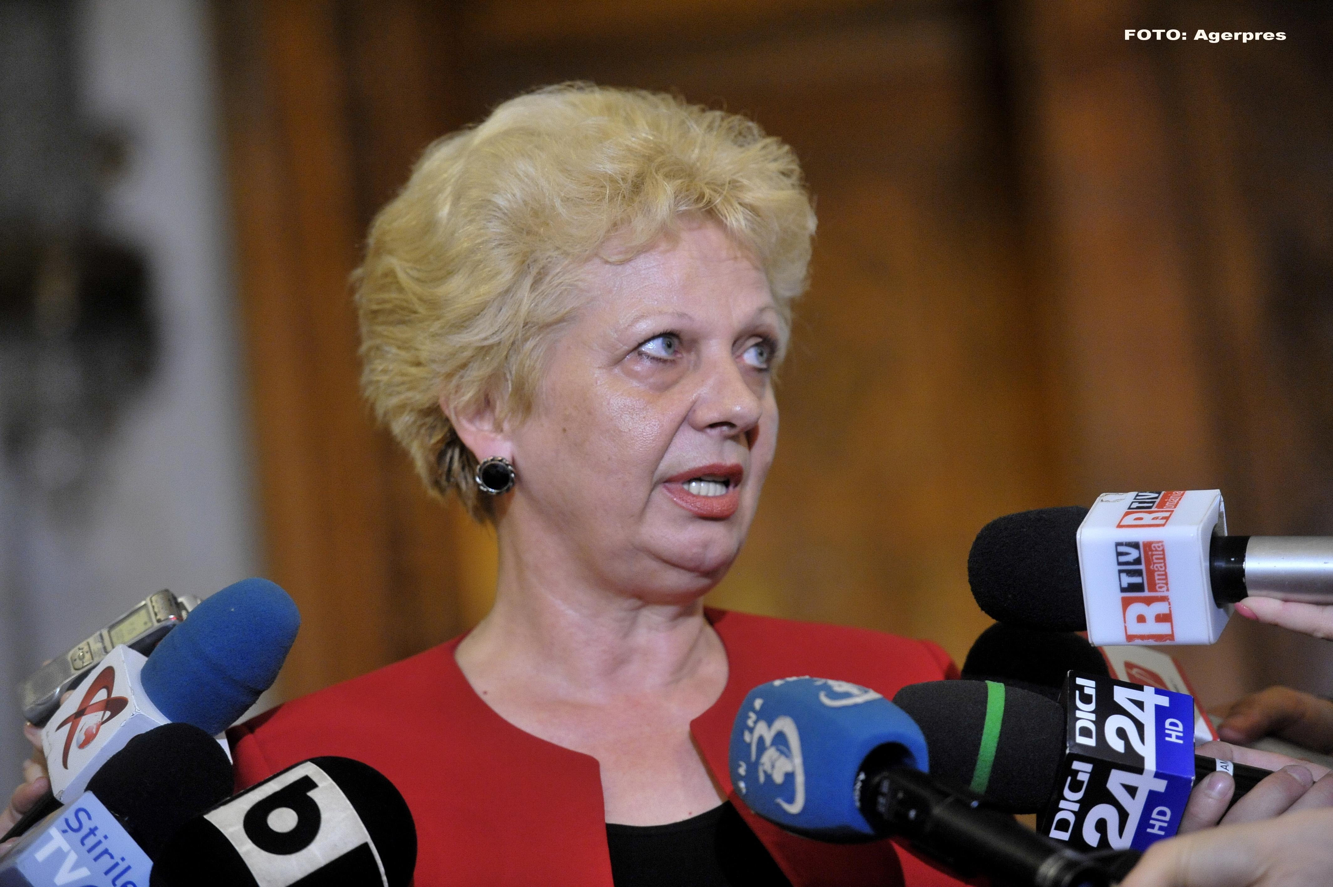 Doina Pană, la DIICOT. Fostul ministru bănuieşte cine ar fi otrăvit-o cu mercur