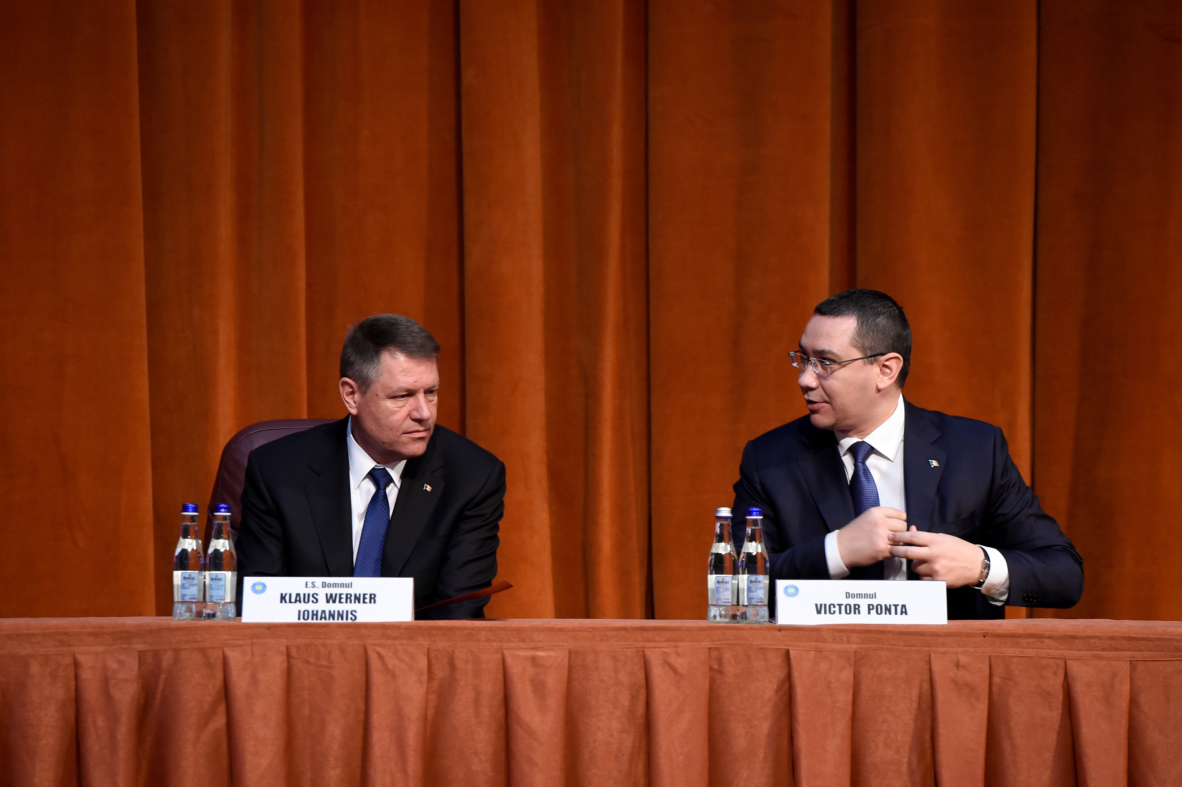 Victor Ponta: Iohannis sa redevina presedintele Romaniei, pentru a-l trata