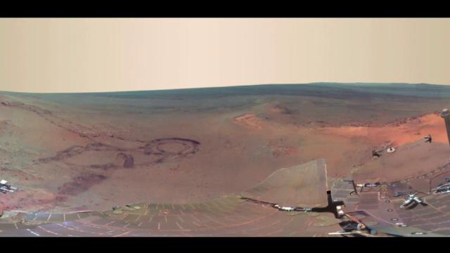 Cum arata primul apus de soare filmat de pe planeta Marte. Robotul Curiosity a surprins imaginile spectaculoase